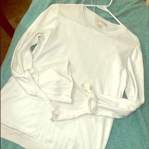 Women's off white Michael Kors sweater